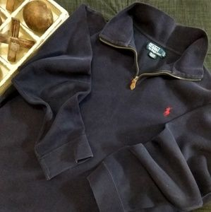 Polo Ralph Lauren 1/4 Zip Pullover Blue